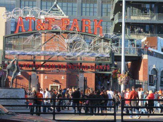 Ballpark entrance