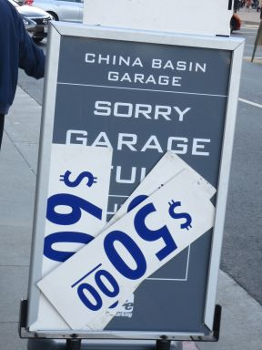 Garage Full Sign