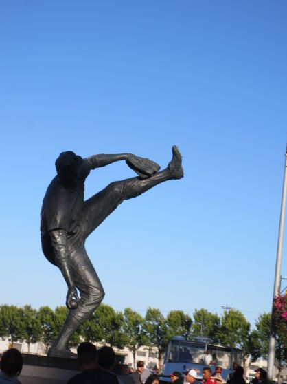 McCovey Statue