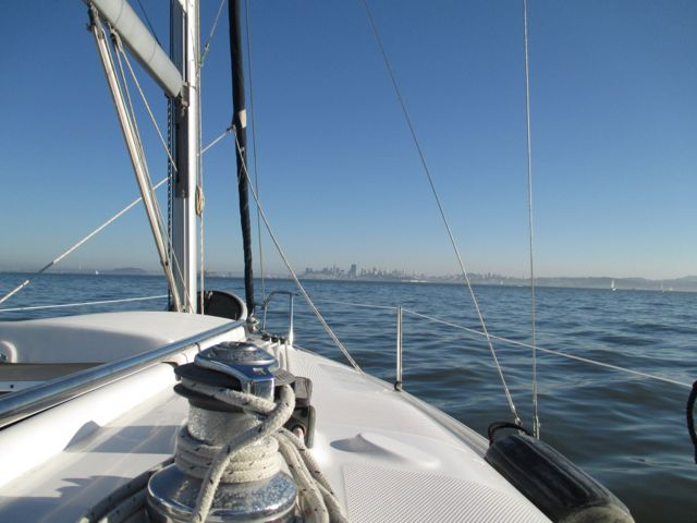 SF Skyline from helm