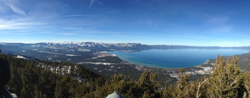 Panorama of Lake Tahoe