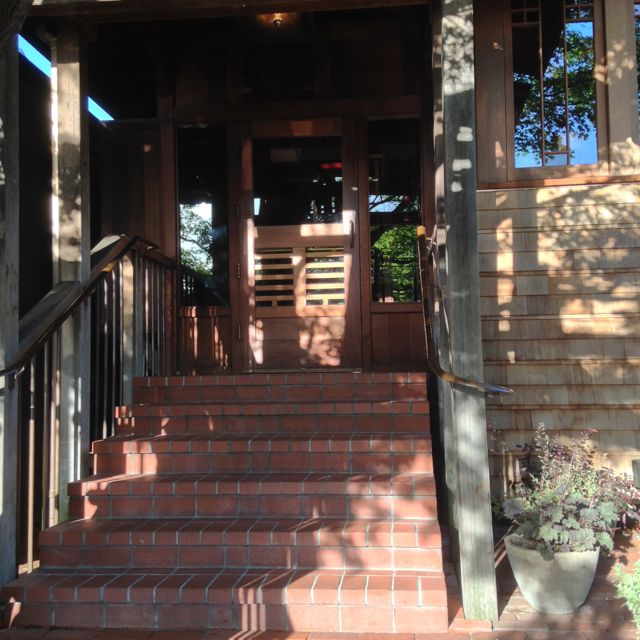 Entrance to Chez Panisse