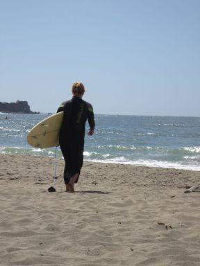 Surfer lady 2