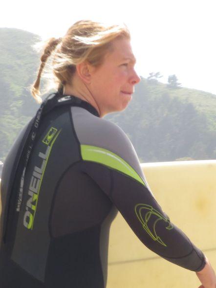 Surfer Lady cu