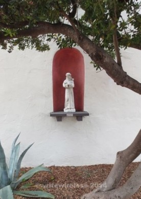 MSLO St Francis Statue