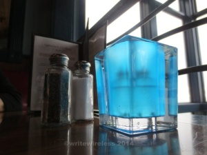 Blue Candle Cup at Distillery