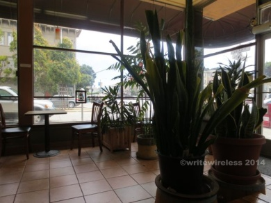 Lots of light and good vibes: Cup & Cake Cafe on Geary Boulevard