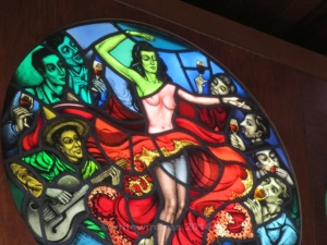 Distillery Stain Glass Dancer 1