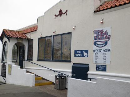 Moss Beach Distillery Entrance