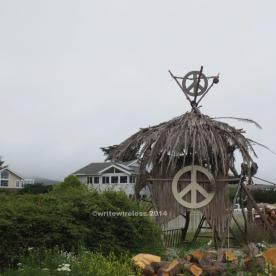 Peace Hut, Moss Beach