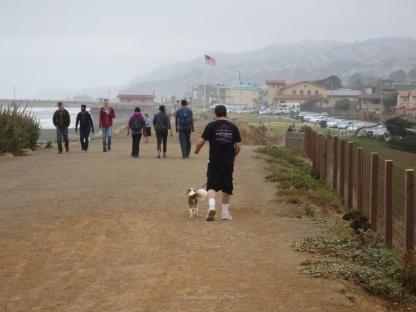 Walkers on Boardwalk