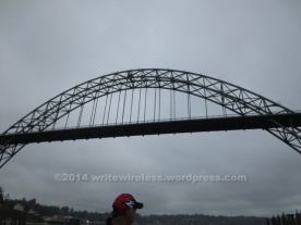 Under Yaquina Bridge