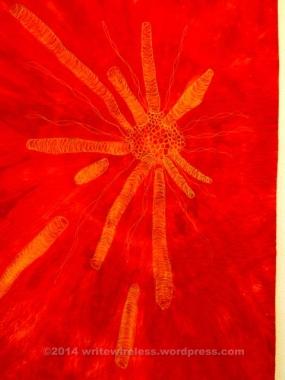 Big Bang by Lynda Christenson (Fabric Art)